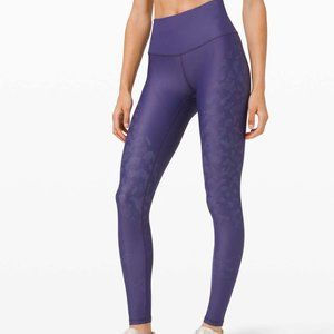 """Lululemon Mapped Out High Rise Tight 28"""" 6"""
